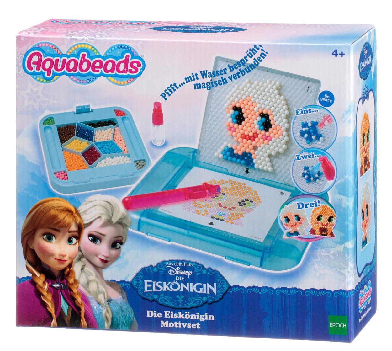 aquabeads 79748 die eisk nigin motivset frozen neu kreativit t mit bunten perlen ebay. Black Bedroom Furniture Sets. Home Design Ideas